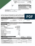 Banamex 389-5490031 Estado de Cuenta Septiembre 2017
