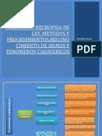 Práctica 5 Necropsia de Ley, Metodos y Procedimientos.reconocimiento de Signos y Fenomenos Cadavericos