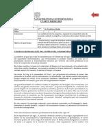 Guía Lit Contemp. IV M. 2019