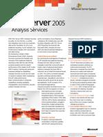 SQL Analysis Services Datasheet