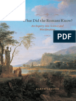 Daryn Lehoux - What Did the Romans Know__ an Inquiry Into Science and Worldmaking-University of Chicago Press (2012)