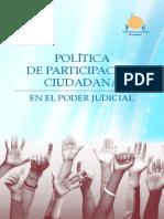 Política Participación Ciudadana