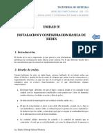 Instalacion y Configuracion Basica de Redes - Ingenieria de Sistemas