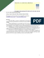 DeL VALLE -- Materiales Curriculares y Transformacion Educativa
