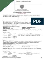 Termo de Homologação 89-2018