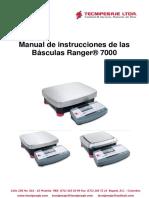 Manual Ranger 7000