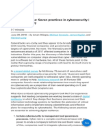 Digital Resilience Seven Practices in Cybersecurity Digital McKinsey