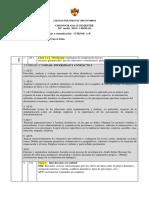 CRONOGRAMA II SEMESTRE -III° PLAN COMÚN