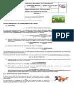 GUIA 6 ESPAÑOL 7° Complementos del verbo