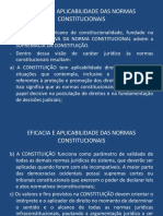 6 Eficacia e Aplicabilidade Das Normas Constitucionais