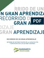 Recorrido de un gran aprendizaje. Sistematización de la Capacitación y Experiencia de los Alfabetizadores (República Dominicana)
