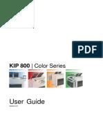 KIP 800 Manual