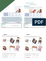 Guía de Materiales Naturales y Artificiales Para Primero