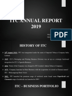 Itc Annual Report 2019(Mamta) Ppt