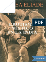 Erotismo Mistico en La India - Mircea Eliade