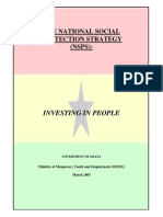 National Social Protection Strategy Ghana