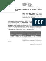 Propuesta de Liquidacion