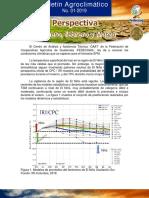 Boletin Agroclimatico Mensual No 01 2019