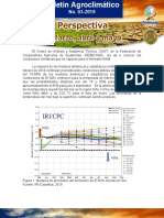 Boletin Agroclimatico Mensual No 03 2019