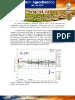 Boletin Agroclimatico Mensual No 06 2019