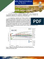 Boletin Agroclimatico Mensual No 04 2019