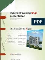 Industrial Training Final Presentation