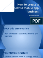 Mobile Apps Presentation