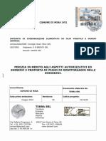 Perizia tecnica sul cogeneratore di via Onari a Giare di Mira
