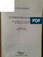 Louis Dumont - O Individualismo