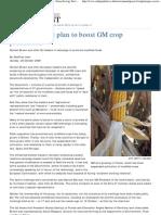 Europe's Secret Plan to Boost GM Crop Production - Green Living, Envi...