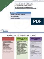 Reformas Educativas Arce, Contreras, Oria MAE EDU Gestión