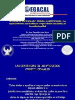 PROCESOS CONSTITUCIONALES_ Amparo, Hábeas Data, Cumplimiento e Inconstitucionalidad