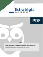 Economia & Finanças Públicas-Aula-14