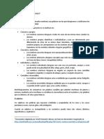 Las Categorías Gramaticales en Lengua Española