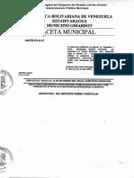 Ordenanza Del Impuesto Sobre Vehículos 16 de Diciembre 2015