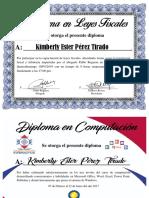 Ejemplo de Diplomas