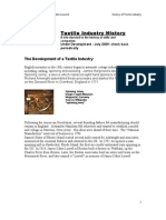 (4) History of Textile Industry