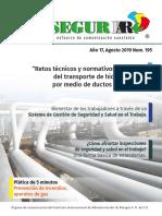 195 Revista SEGURIIAR Agosto 2019.