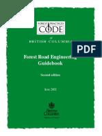 Forest Road Engineering Guidebook