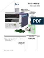 Zmywarka Moduł STEROWANIA PB100 PB200 Aeg Service Manual 2