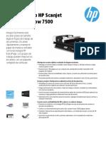 Scanjet HP 7500 Especificaciones