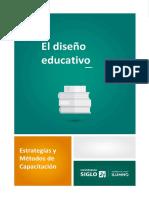 El Diseño Educativo