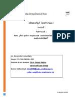 Act.1. Foro. ¿Por qué es importante considerar las dimensiones de la sustentabilidad.docx