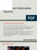 Media and Information SOURCES