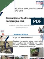 Gerenciamento ambiental na construçao civil
