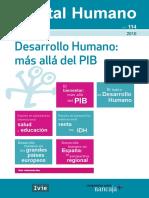 Desarrollo  Hummano mas alla del PIB_ Revista Capital Humano N° 114