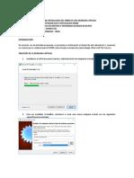 Rodrigo Buritica Cc94472151 - Laboratorio 1 Informe Instalacion Smbd en Una Vm