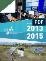 MEMORIA-CSN-2013-2015