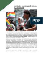 Biología y Orientación Sexual - Marta Iglesias Julios