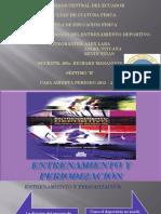 Entrenamiento y Periodización